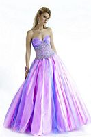Jovani Cinderella Tulle Ball Gown 153069 image
