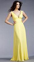 Jovani Rhinestone Loop Shoulders Evening Dress 153663 image