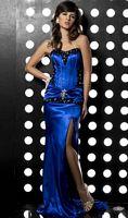 Jasz Couture Bustier Lace Up Evening Dress 4098A image