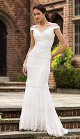Destinations by Mon Cheri Lace Wedding Dress 110145 image