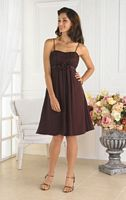 Knee Length Pretty Maids Bridesmaid Dress 22335 by House of Wu image