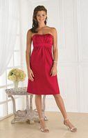 Short Strapless Pretty Maids Bridesmaid Dress 22345 image