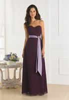 Long Pretty Maids Bridesmaid Dress by 22350 House of Wu image