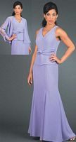 Ursula Petite Plus Size Mother of the Bride Dress 51122W image