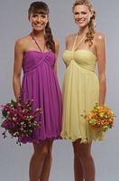 Liz Fields Short Bridesmaids Dresses 223 image