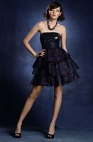Romantic Vampire Twilight Short Prom Dress 4002  by Alfred Angelo image