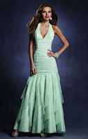 Size 16 Lettuce Glitter Twilight Prom Dress 4006  by Alfred Angelo image