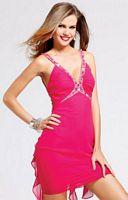 Homecoming 2011 Faviana Glamour Ruffle Back Cocktail Dress S6848 image