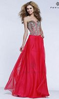 Faviana S7320 Glamour Corset Evening Dress image
