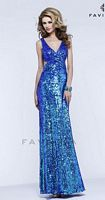 Faviana Glamour S7373 Cut Out Evening Dress image