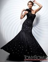Tony Bowls Evenings One Shoulder Mermaid Dress TBE21111 image