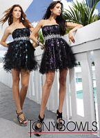 Tony Bowls Shorts Lettuce Hem Party Prom Dress TS11254 image